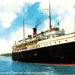 "Goodrich Steamer ""Carolina"" on White Lake"